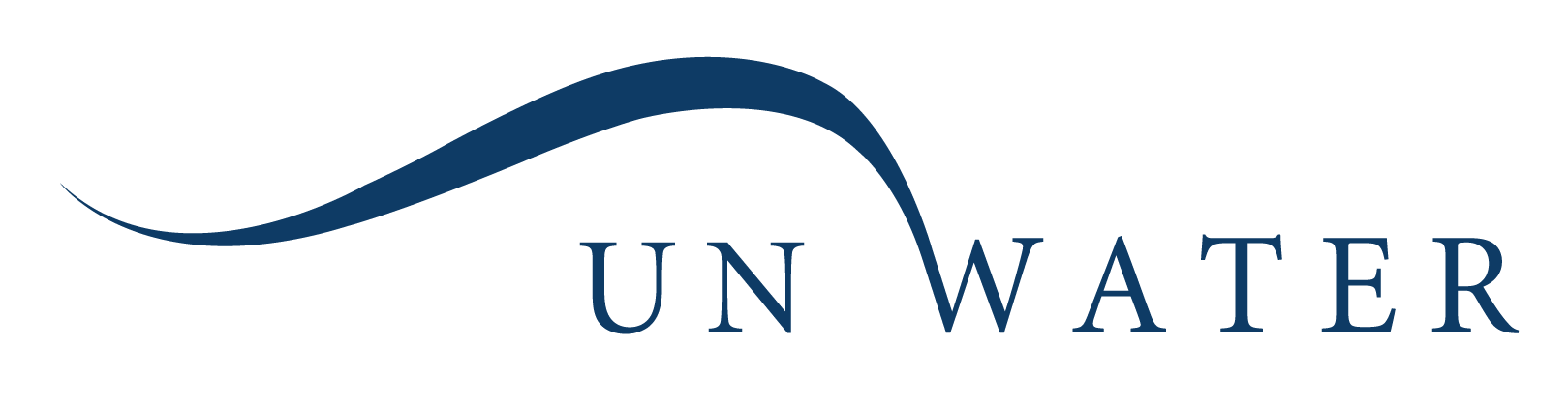 un water footer logo